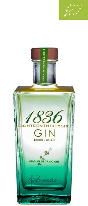 1836 Organic Barrel Aged Gin 42% vol. 0,7-l