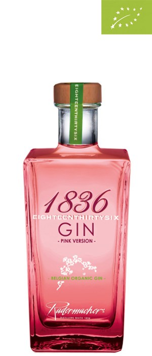 1836 Organic Gin Pink 37,5% vol. 0,7-l