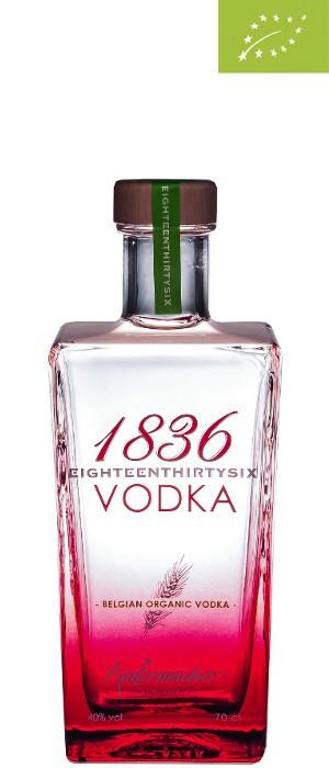 1836 Organic Vodka 40% vol. 0,7-l