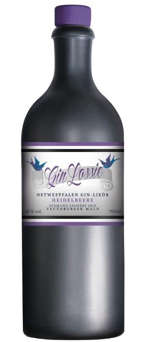 Gin Lossie Heidelbeere 40 vol. 0,7-l