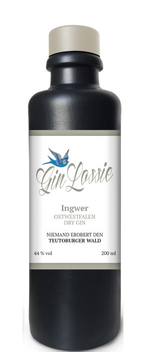 Gin Lossie Ingwer 44 vol. 0,2-l