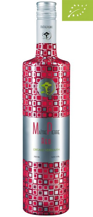 Maitrepierre Red Organic Vermouth 14,5 % vol 0,75-l