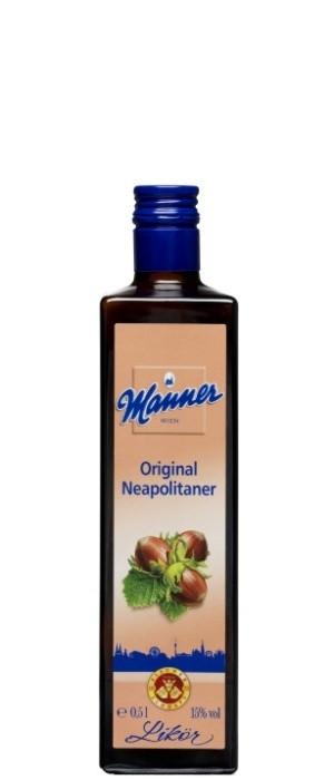 Manner Original Neapolitaner Likör 16% vol. 0,5-l (mit Farbstoff)