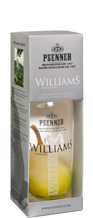 Psenner Williams mit Frucht 38% vol. 0,5-l