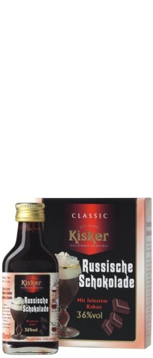 Kisker Russische Schokolade 36% vol. Tray mit 6x 0,04-l 2er Pack