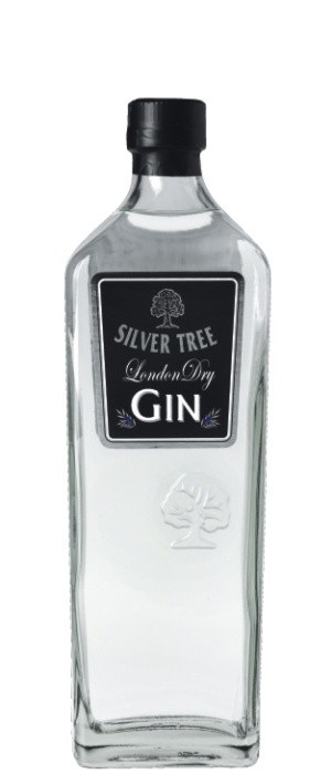 Silver Tree London Dry Gin 41,5 vol. 0,7-l
