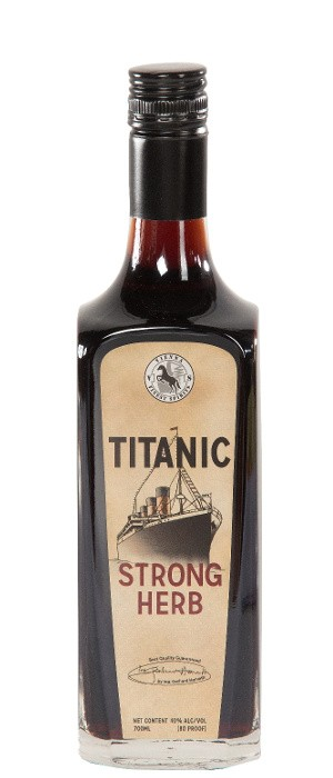 Titanic Strong Herbal Liqueur 40% vol. 0,7-l