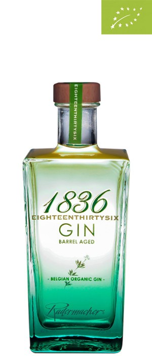1836 Organic Barrel Aged Gin 42% vol. 0,7-l