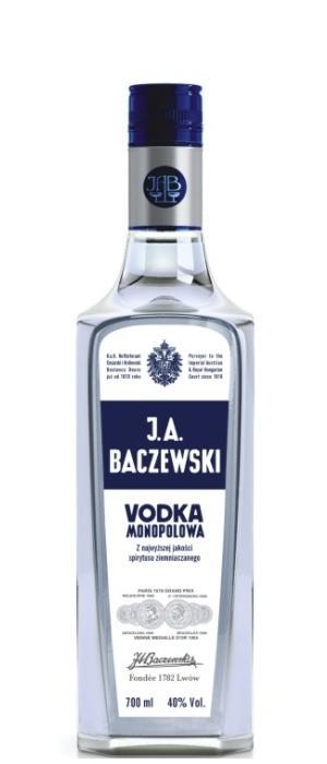J.A. Baczewski Wodka 40% vol. 0,7-l