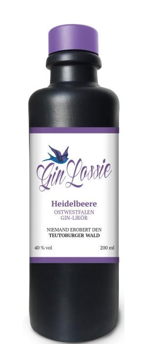 Gin Lossie Heidelbeere 40 vol. 0,2-l