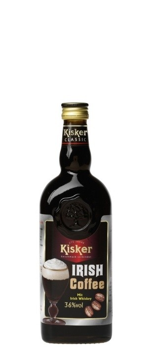 Kisker Irish Coffee 36% vol. 0,5-l
