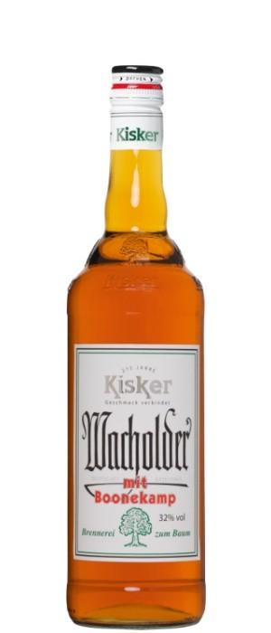 Kisker Wacholder mit Boonekamp 32% vol. 0,7-l