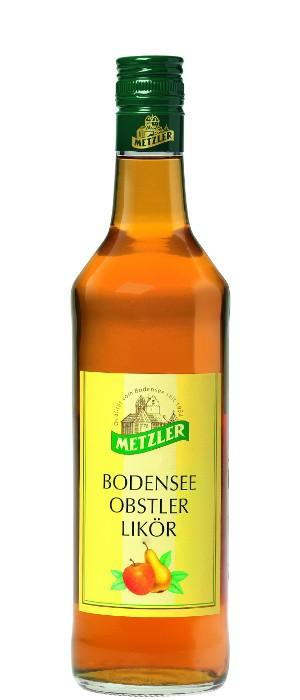 Metzler Bodensee Obstler Likör 20% vol. 0,7-l