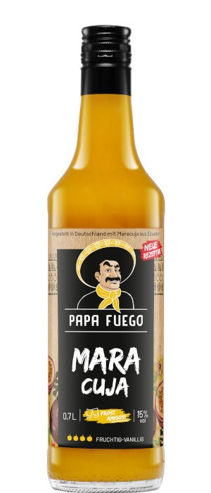 Papa Fuego Maracuja 15% vol. 0,7-l