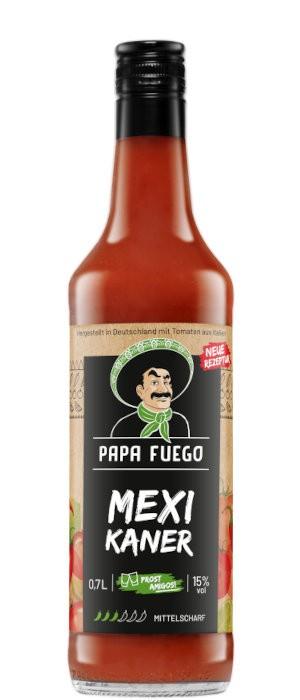 Papa Fuego Mittelscharf 15% vol. 0,7-l