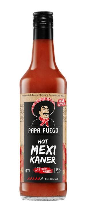 Papa Fuego Sehr Scharf 15% vol. 0,7-l