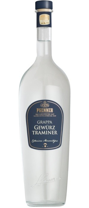Psenner Grappa Gewürztraminer 41% vol. 0,5-l