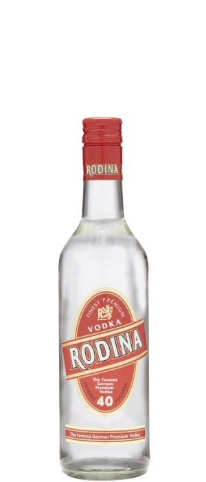 RODINA Vodka 40% vol. 0,5-l
