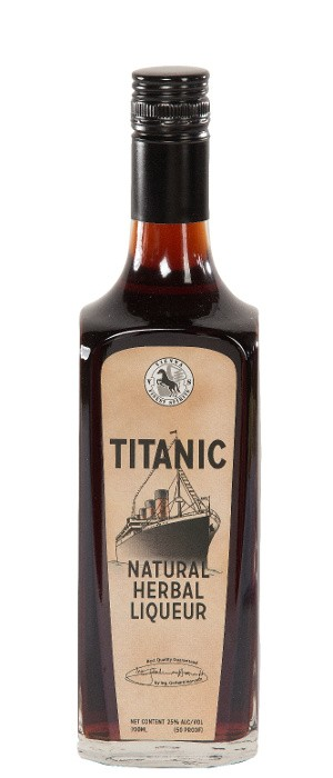 Titanic Natural Herbal Liqueur 25% vol. 0,7-l