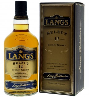 Langs Select 12 years Bl. Scotch Whisky 40% vol. 0,7-l